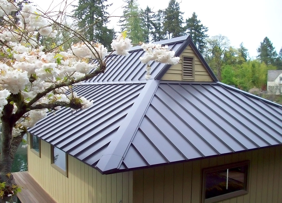 Metal roofing ann arbor roofing services for Types of roofing